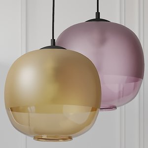 ceiling crowdyhouse bale pendant 3D