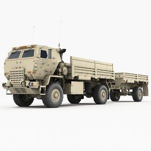 3D m1078 cargo truck transport