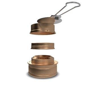 alcohol stove 3D model