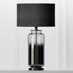 table lamps cox smoke 3D model