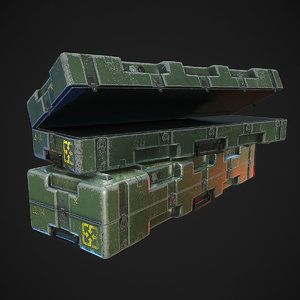 military weapons 3D model