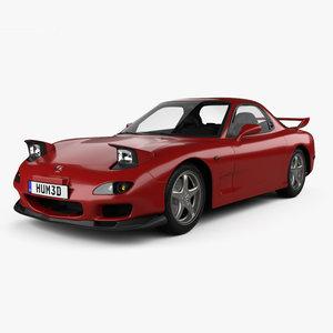 3D model mazda rx-7 1992