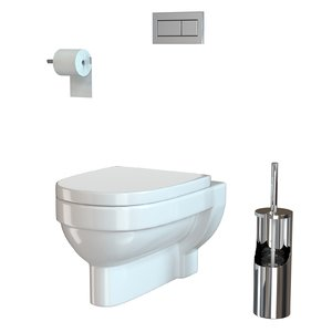 3D model toilet vitra