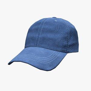3D baseball cap model