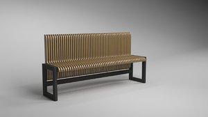 bench transformer 3D model