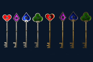 3D themed key pack pbr