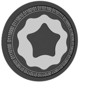penta black coin model
