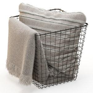 basket zara home pillow model