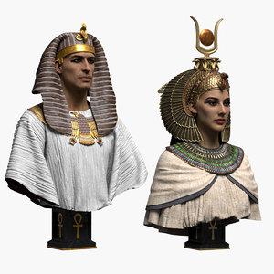 pharaoh queen model