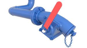 valve 3D model