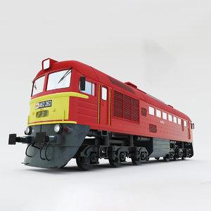m62 locomotive 3D