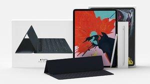 3D apple pad pro 12 model