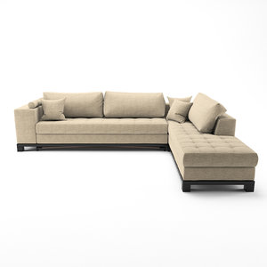 3D nogersund ikea sofa model