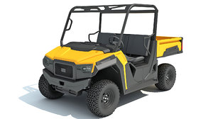 utility vehicle 3D model