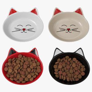 cat dish 3D model