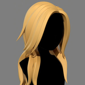 3D character - cartoon girl