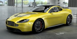 aston car design 3D