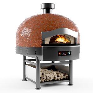 3D model morello forni pizza oven