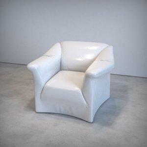 3D realistic tentazioni chair