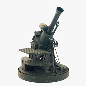 3D rms6l 120 mortar model