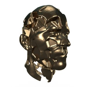 3D model abstract head