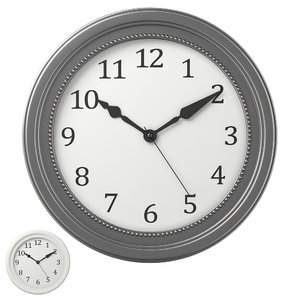 3D wall clock ikea sondrum model
