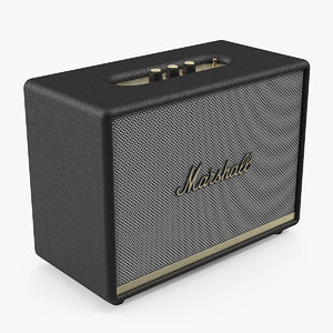 3D marshall woburn ii wireless model