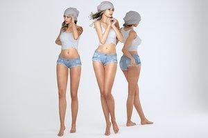 3D female