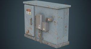 electrical enclosure 4b 3D