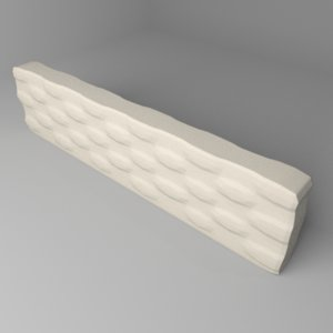 3D fence stone 8