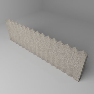 fence stone 10 3D