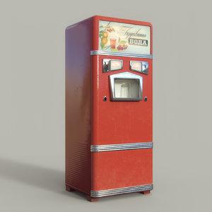 old machine soda 3D
