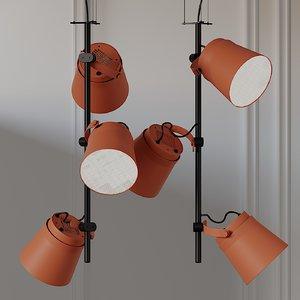 ceiling zero ginza vertical 3D model