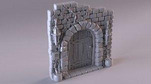 door fairies little 3D model