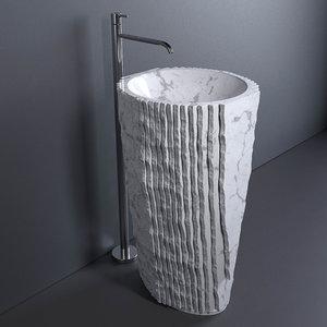 3D antonio lupi washbasin