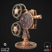 Steampunk Projector