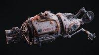 URAN Spacecraft - Scene files