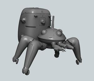 tachikoma print model