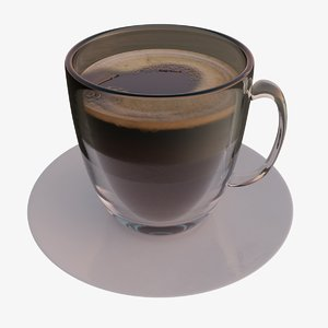 coffee drink cup 3D