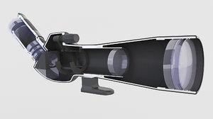 mirror parts 3D model