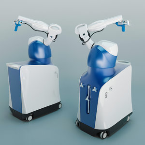 3D robotic arm assisted surgery