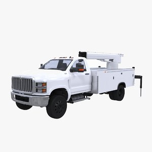international cv 2020 crane 3D model