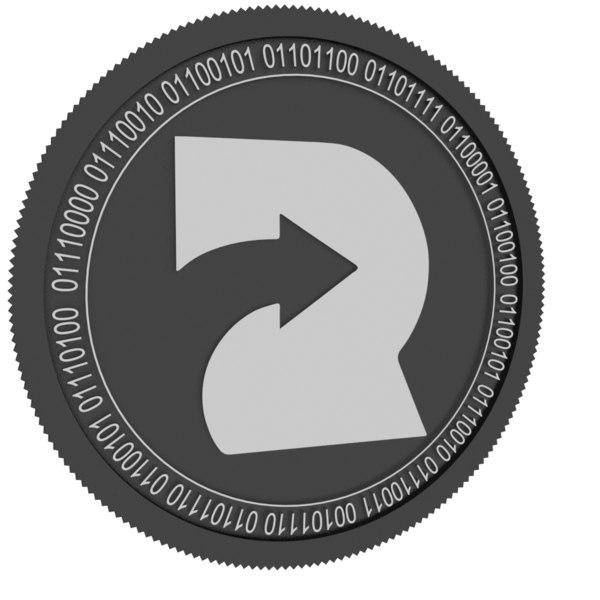 3D refereum black coin