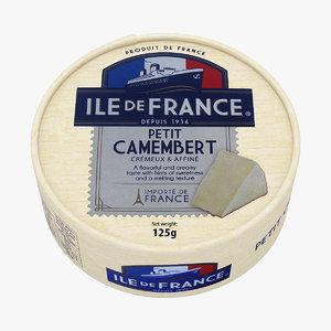 3D petit camembert