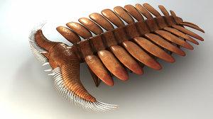 3D pambdelurion whittingtoni model