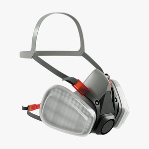 respirator mask health 3D model
