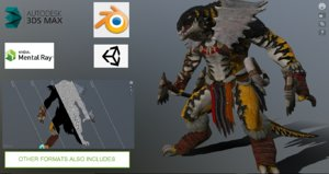 3D character unity engines