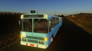 onibus sanremo bus 3D