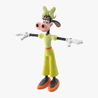 clarabelle cow 3D model