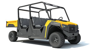 utility vehicle 2 3D model